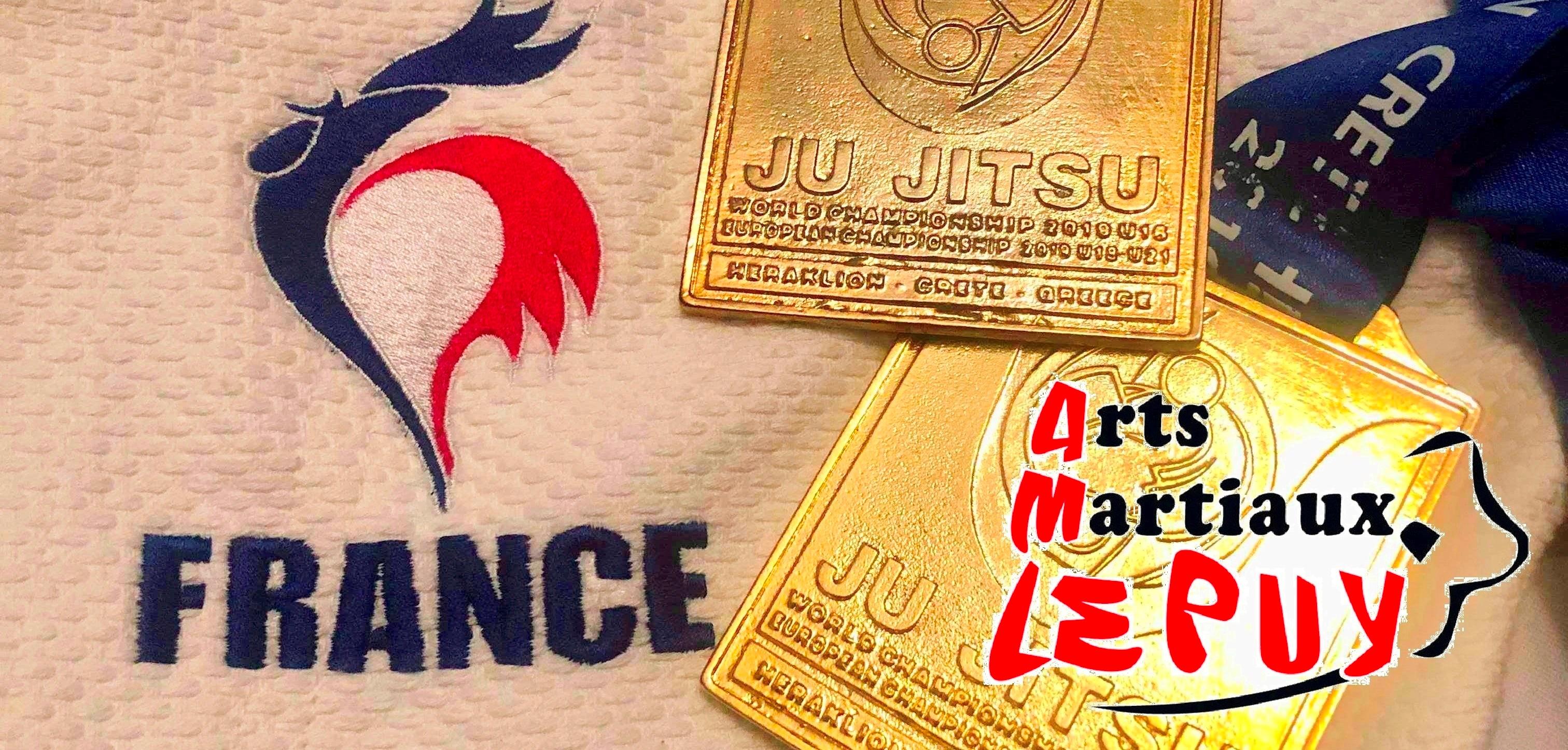 Champions d'Europe Jujitsu !