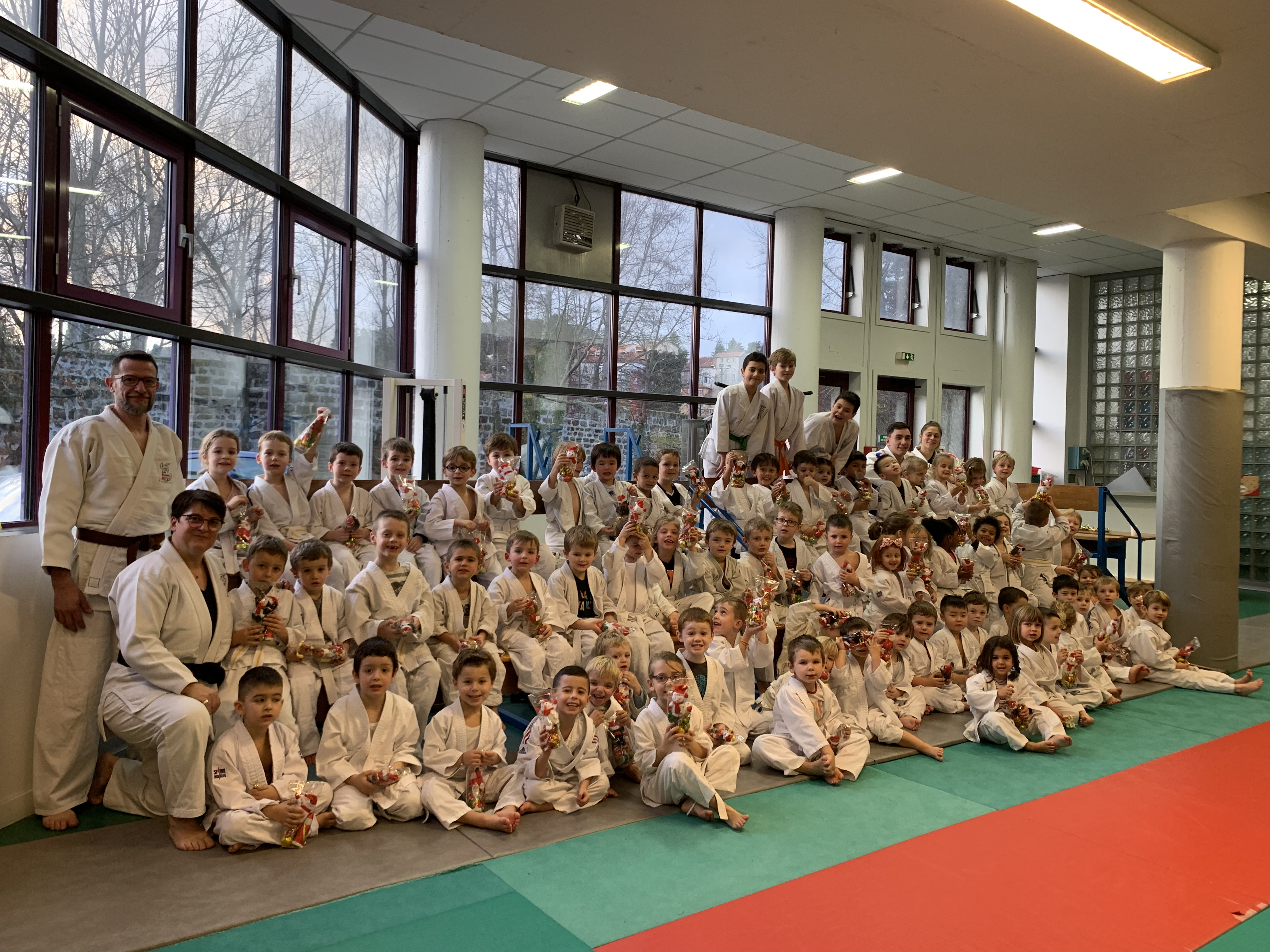 Noel pour les petits judokas