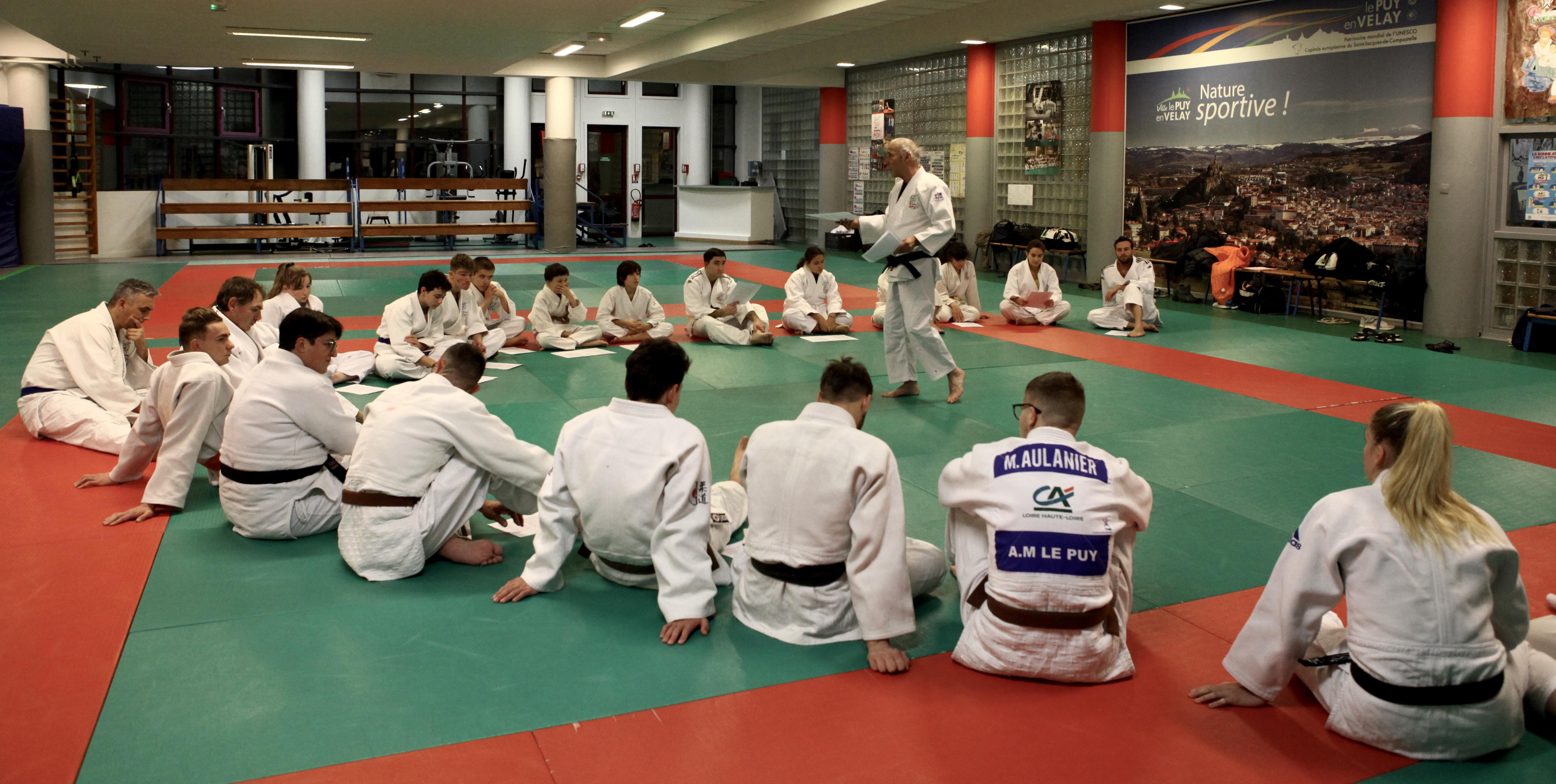 Soirée Culture Judo, 1ers Secours et Arbitrage