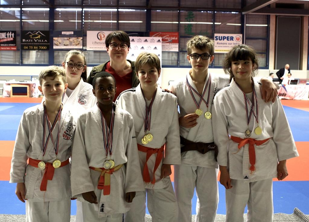Les jujitsukas performants en region