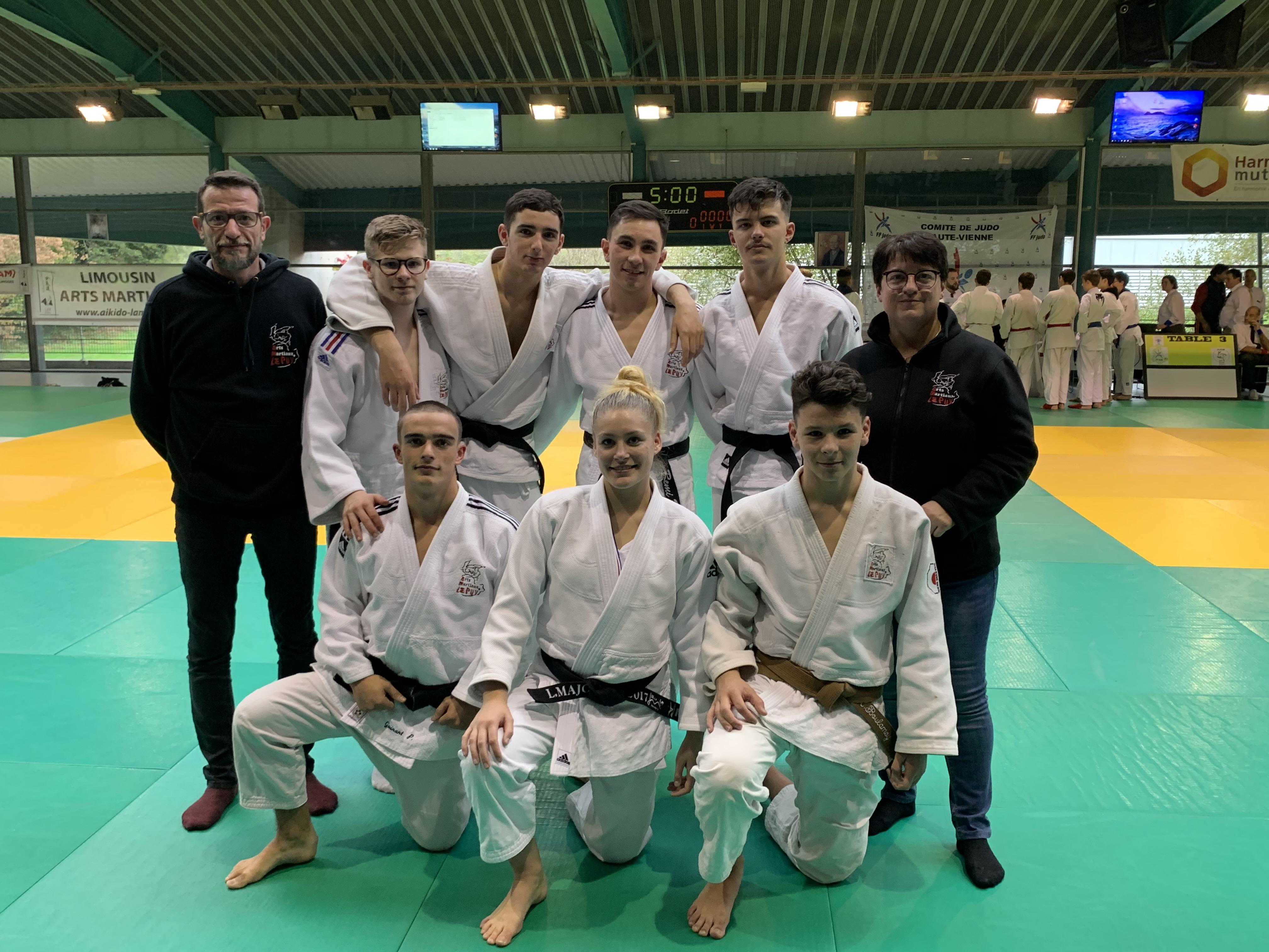 Nouvelles performances pour les jujitsukas