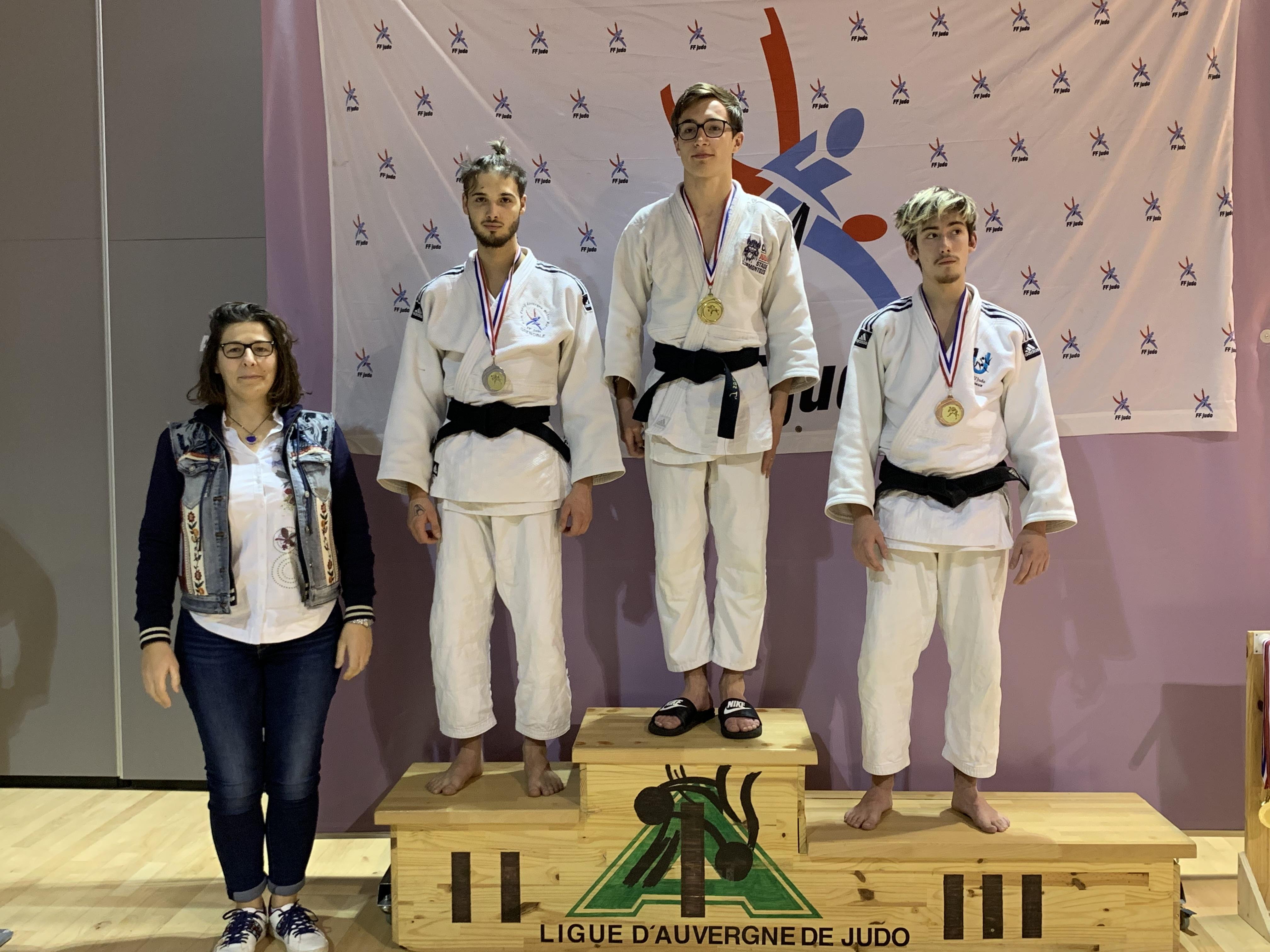Vice champion d'Auvergne Judo